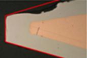 外观溶蚀度高,烙铁头的更换频率高,消耗成本高